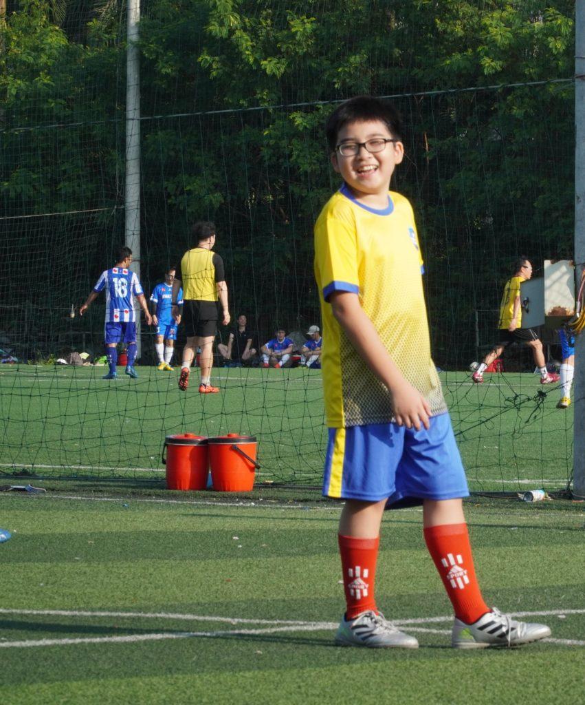 lớp dạy bóng đá trẻ em