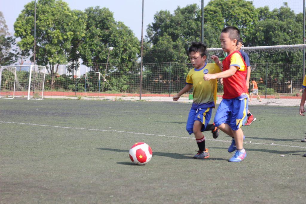 lớp học bóng đá La Masia