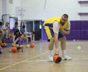 Lớp học bóng rổ
