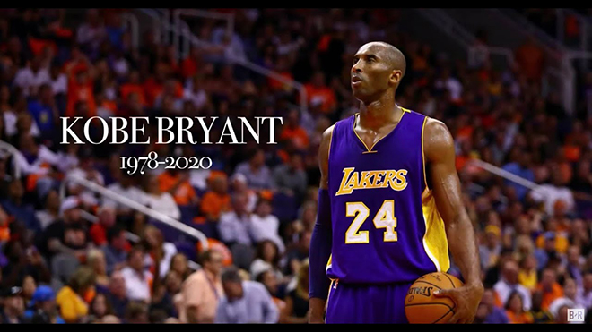 Huyền thoại bóng rổ Kobe Bryant